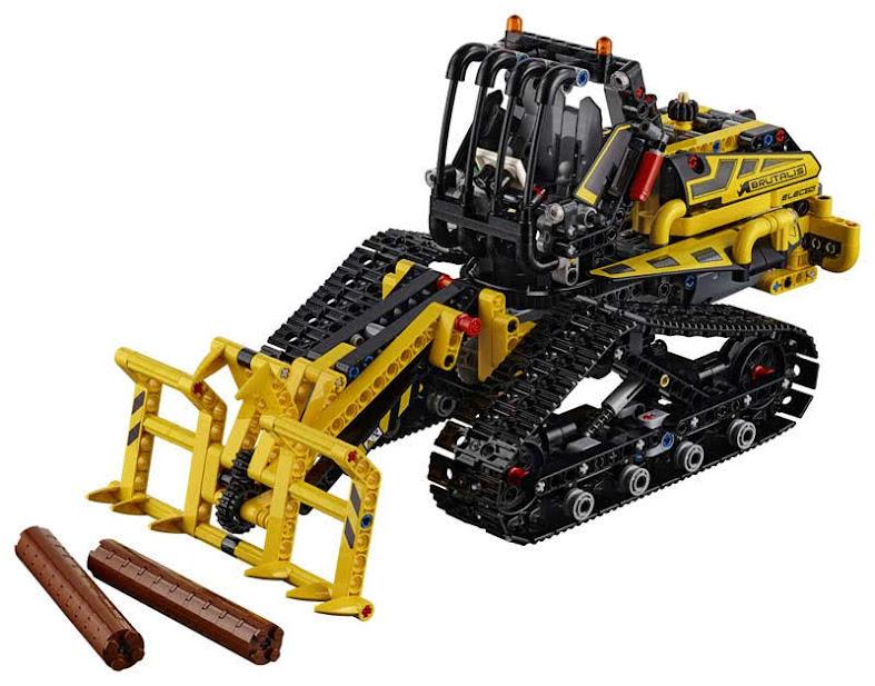 Contenido de Lego® 42094 Cargadora con Orugas