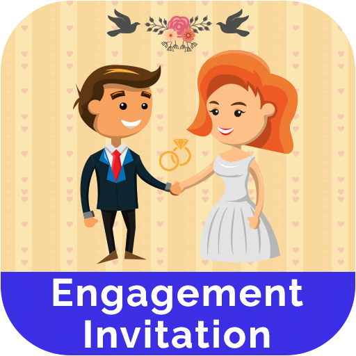 Engagement Invitation Card Maker icon