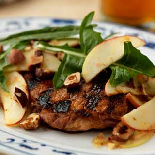 Country Ribs with Apples, Hazelnuts and Urfa Vinaigrette.