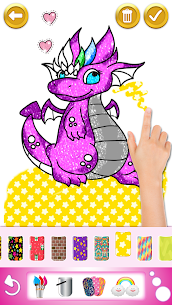Glitter Coloring and Drawing Book for Kids 2