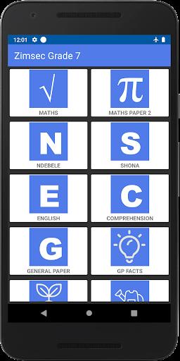 Zimsec Grade 7 Revision 7.3.a screenshots 1
