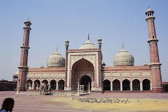 Photo: #005-La mosquée Jama Masjid-New Delhi