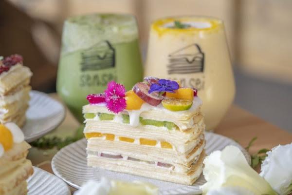 高雄甜點 先生せんせい手作千層蛋糕 職人精神打造夢幻千層,天然食材美味又療癒