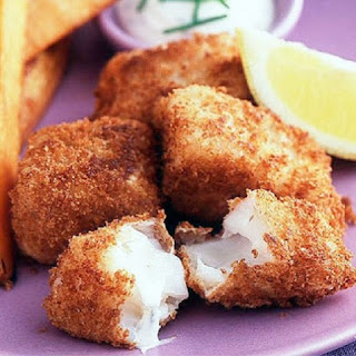 Oven Baked Crunch Fish Fingers Recipe