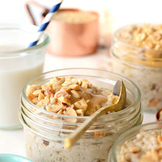 Crunchy Peanut Butter Steel Cut Oatmeal + Happy National Peanut Day!