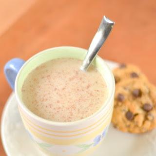 Vanilla Nutmeg Almond Milk Steamer - With Protein Option!