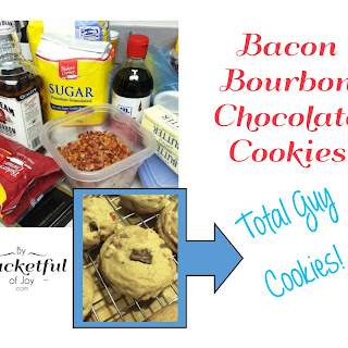 Bacon Bourbon Chocolate Cookies