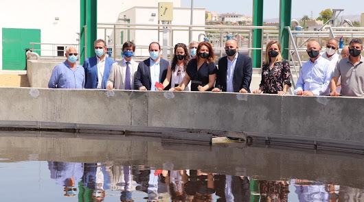 """Crespo promete """"cerrar el círculo"""": 100% de depuración de aguas para el Levante"""