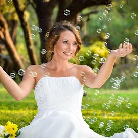 Bubbles  by Alta Mouton - Wedding Bride