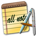 All Note - rich editor,photo,drawing,maps and more icon
