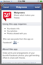 Photo: It is very easy to download the Walgreens app. I wanted to use it today for the photo section on the app. I wanted to make my husband a great Valentine's Day Collage and knew by using the photo section of the Walgreens app, I could do this easily with my phone. I could print the pictures directly from my phone, Facebook, or Instagram right from this app and Walgreens will have it ready for my pick up!