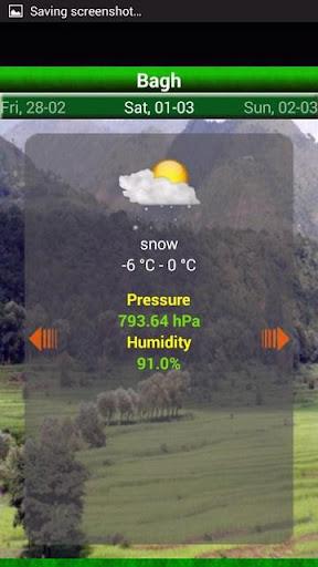 Pakistan Weather 1.10 screenshots 8