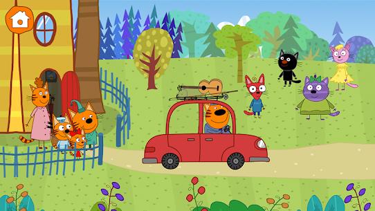 Kid-E-Cats: Three Cats on a Picnic! Kitty Games! 8