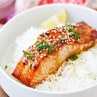Baked Salmon With Oyster Sauce Recipes.