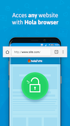 Hola Free VPN Proxy APK screenshot thumbnail 2