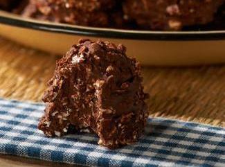 Chocolate Hazelnut No-bake Cookies Recipe
