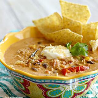 Creamy Chicken Fajita Soup Recipe