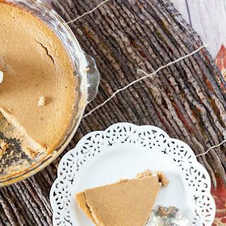 Crustless Bourbon Pumpkin Pie – No Sugar Added