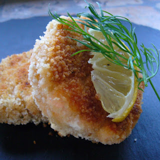 Nordic or Italian Salmon Croquettes with Sundried Tomatoes.