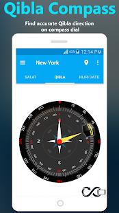 Qibla Compass- Hijri & Salat - náhled