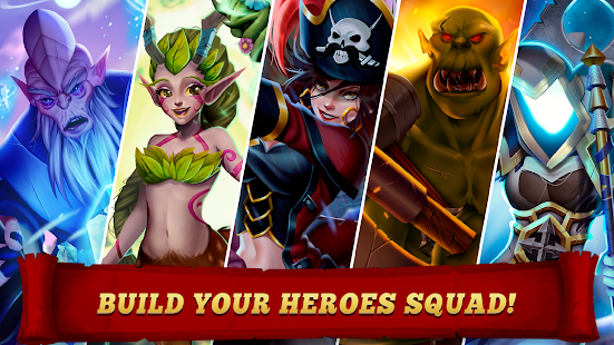 Brave Soul Heroes - Free Idle RPG games 2020 Screenshot