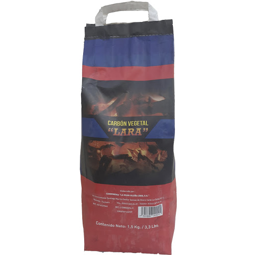 carbon vegetal lara normal 1.5kg
