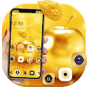 Gold Luxury Apple Theme For XS icon