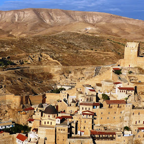 Mar Saba monastery by Amir Elad - Buildings & Architecture Places of Worship