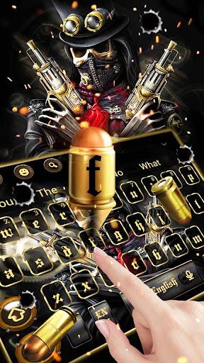 Skull Gun Keyboard 10001003 screenshots 2