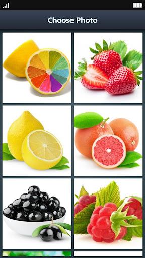 Slide Puzzle - Juicy Fruits