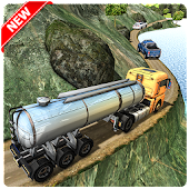 Mountain Oil Tanker Transport: Heavy Cargo Trailer