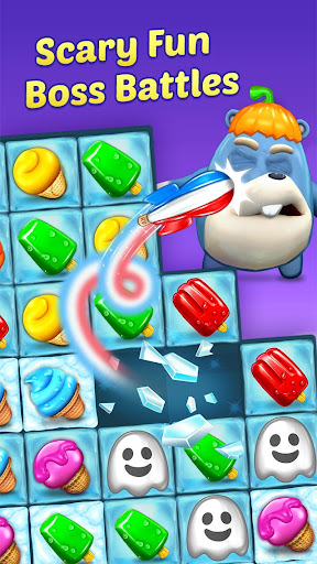 Ice Cream Paradise - Match 3 Puzzle Adventure 2.0.8 screenshots 2