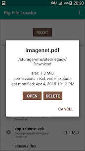 Big File Locator App Download for Android 4