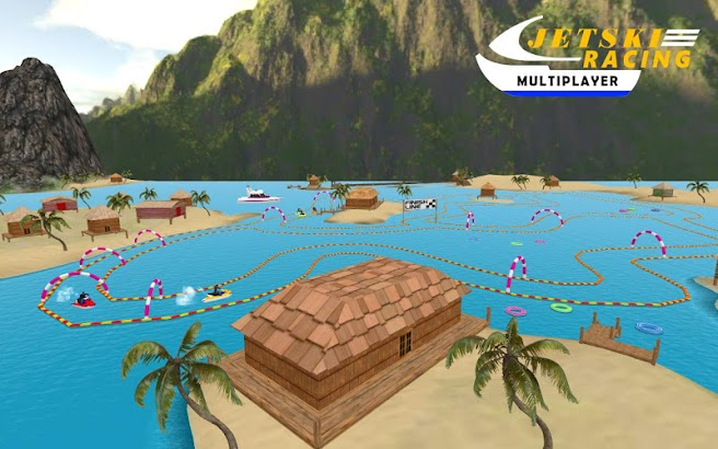 Jet Ski Multiplayer Battle- screenshot thumbnail