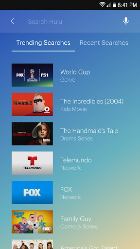 Screenshot for Hulu: Stream TV, Movies & more in United States Play Store
