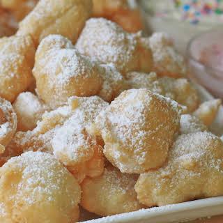 Funnel Cake Bites.