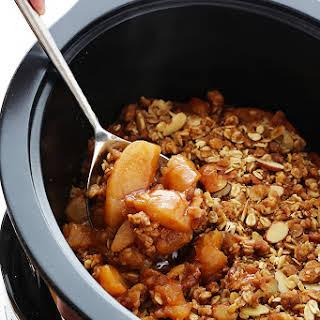 Slow Cooker Apple Crisp.