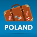 波兰 离线地图和免费旅游指南 icon