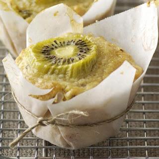Whole Wheat Kiwi Muffins Recipe