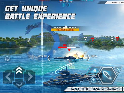 Pacific Warships: World of Naval PvP Warfare apktram screenshots 8