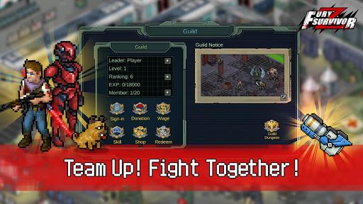 Fury Survivor: Pixel Z  captures d'écran 1