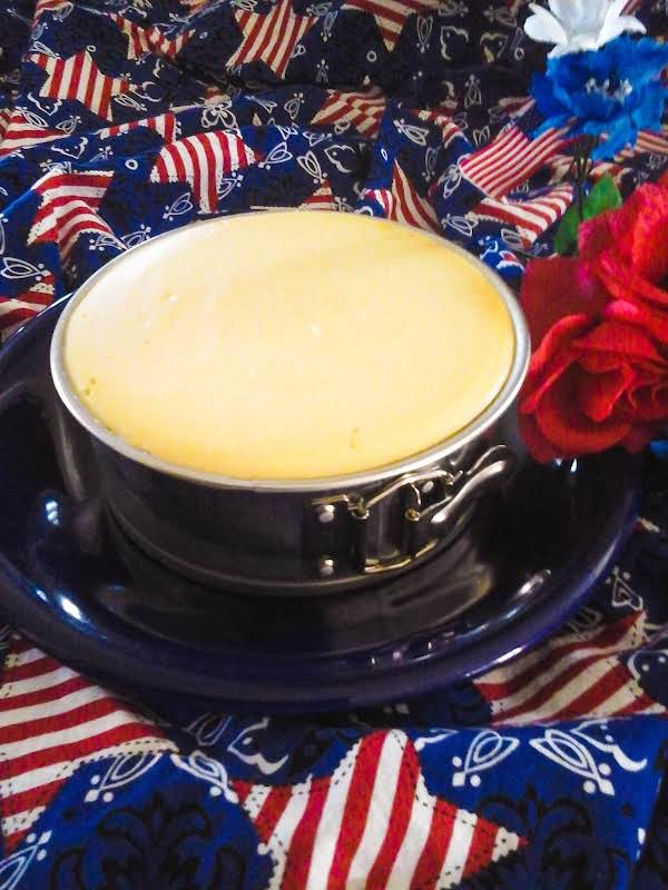Chad's Cheesecake (7 Inch Springform) Recipe