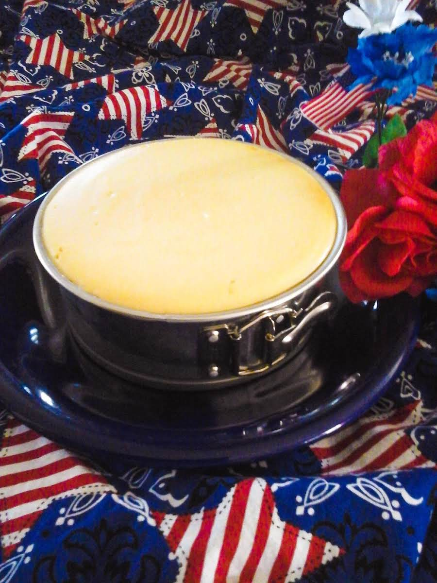 Chad S Cheesecake 7 Inch Springform Recipe Just A Pinch