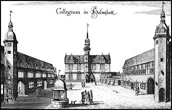 Photo: Collegium in Helmstedt um 1640 - Ehemalige Universität Juleum
