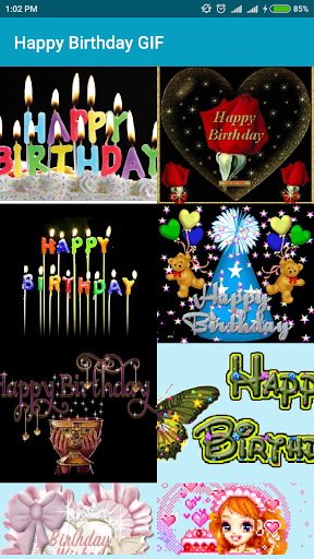 Happy Birthday GIF photos 1