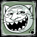 Troll Face Girl icon