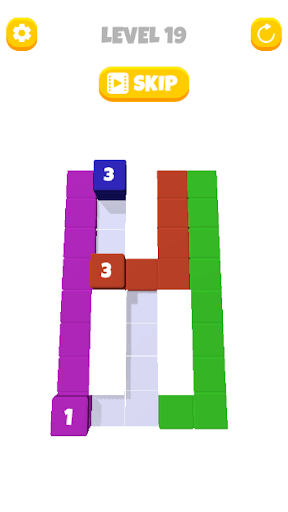 Stack Blocks - Stacking Cube 3D android2mod screenshots 1