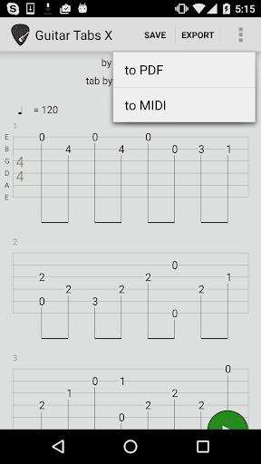 Guitar Tabs X 4.08 screenshots 2