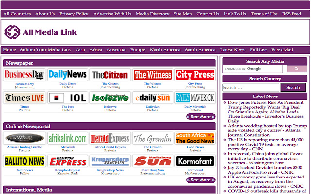 South African Newspapers Online