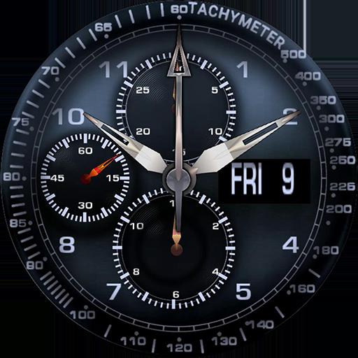 Knight HR watch face